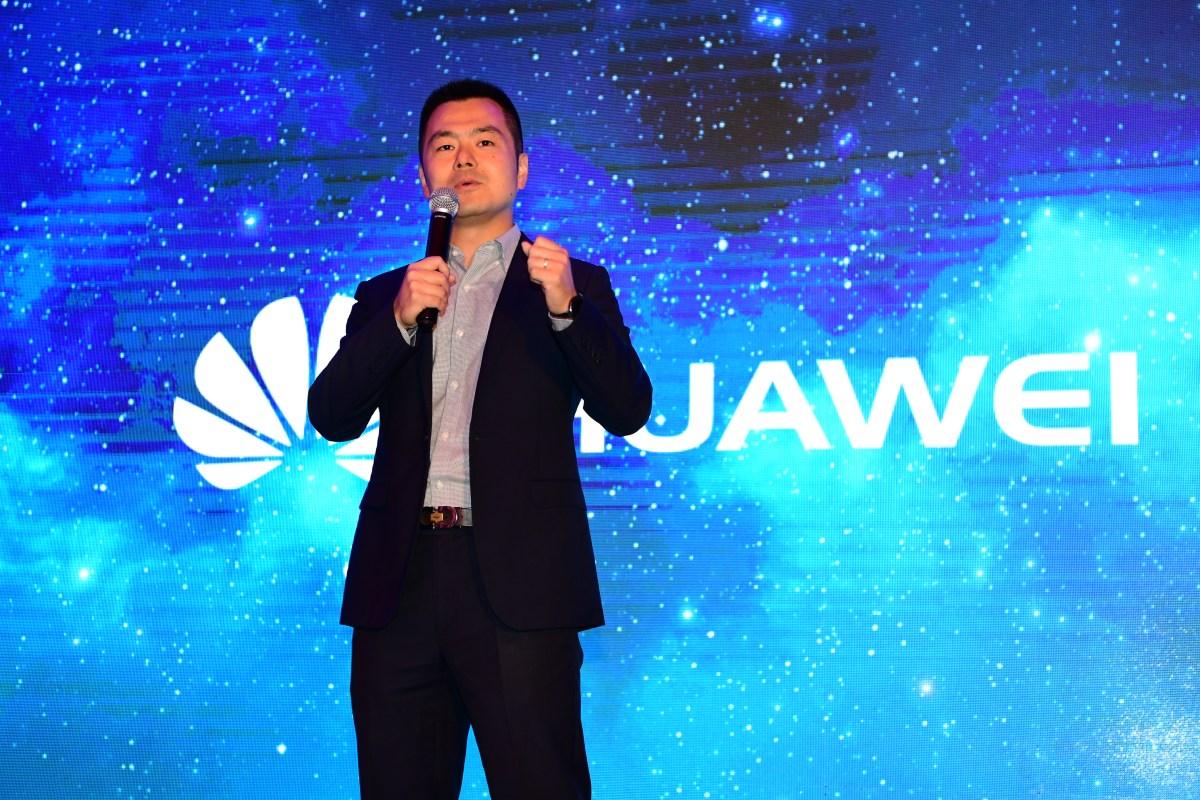 Yue Yang, Director de Terminales de Huawei Perú.JPG